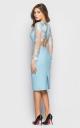 Вечернее платье (голубое)