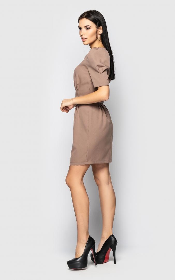 Изящное платье (Бежевое)