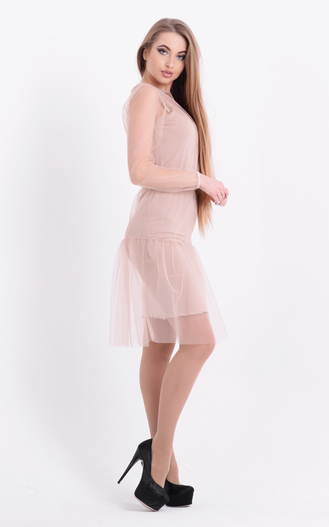 Lovely dress-deuce (beige)