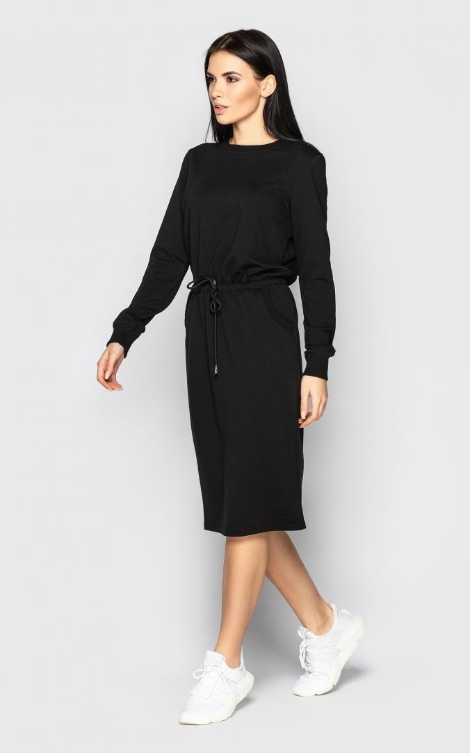 Спортивное платье (черное)