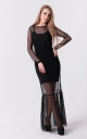Stunning long dress (black)