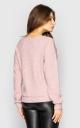 Джемпер из мягкой вязки (розовый)