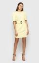 Изящное платье (желтое)