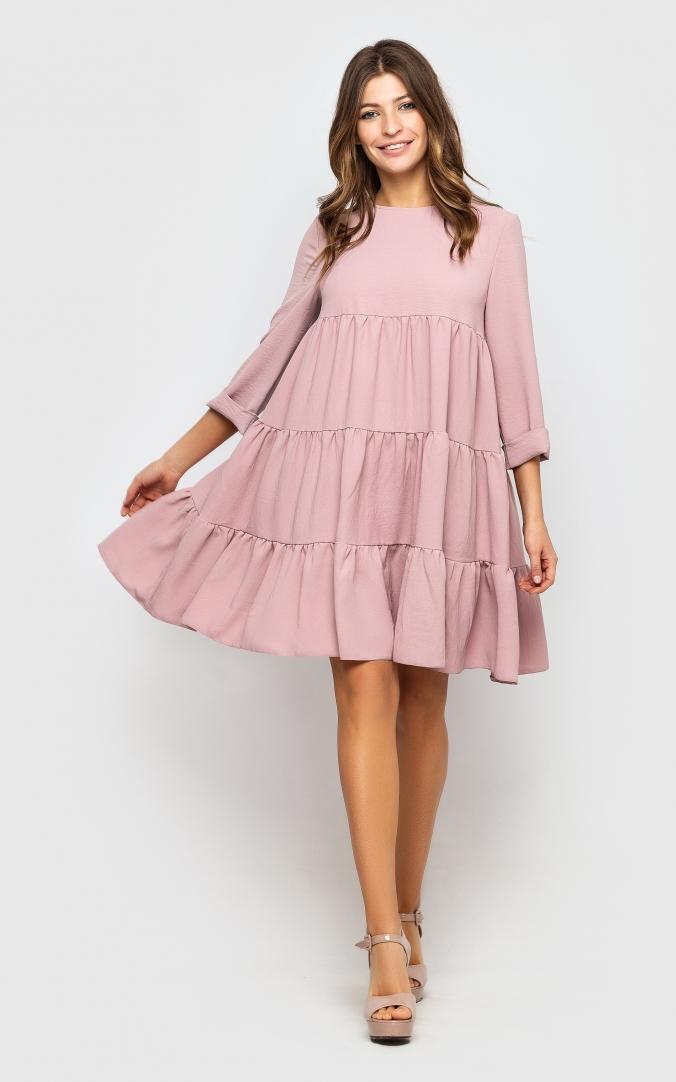 Воздушное платье-туника
