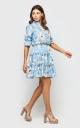 Романтичное платье (голубое)