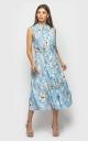 Летнее платье (голубое)