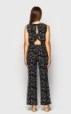 Light jumpsuit with trousers (black)