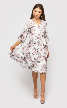 Плаття на запах (біле)