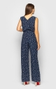 Summer jumpsuit with trousers (blue)