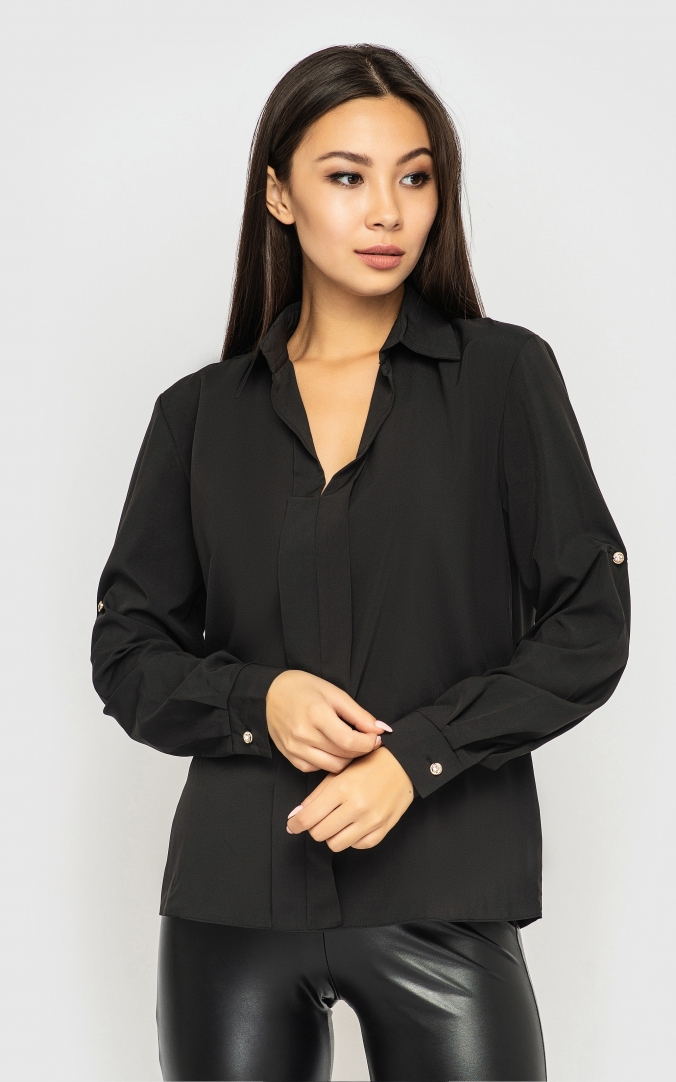Loose summer shirt (black)