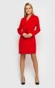 Платье-пиджак (красное)