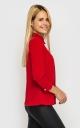 Модная короткая блузка (красная)