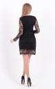 Elegant embroidered dress