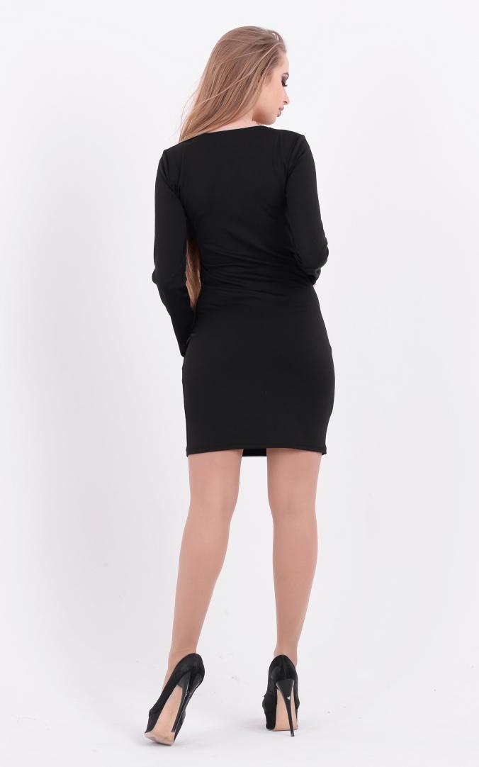 Стильна чорна сукня