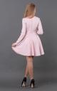Split Suede Dress