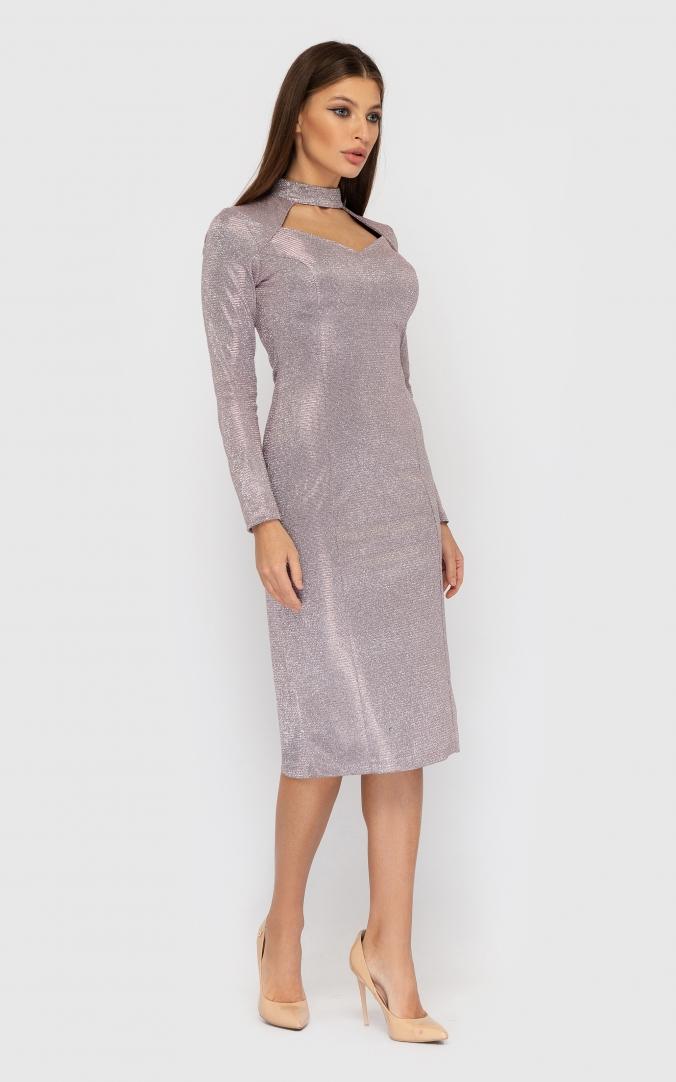 Платье люрекс хамелеон