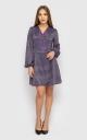 Платье-мини с длинным рукавом