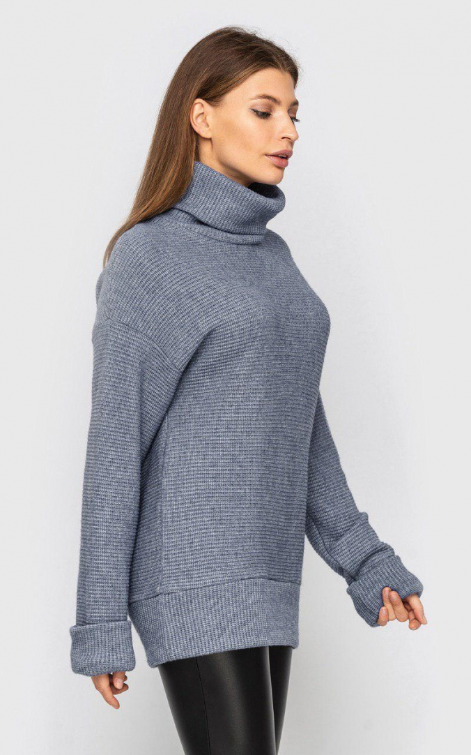 Knitted sweater (gray)