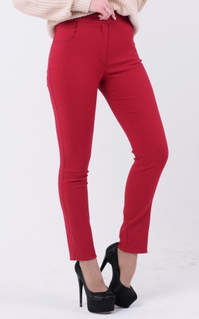 Trendy jeans with zipper