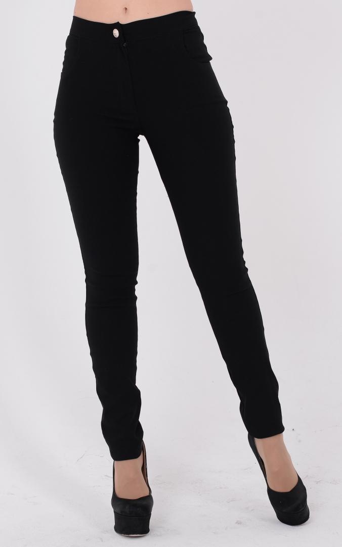 Трендовые джинсы с молнией