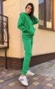 Костюм на флисе (зелёный)