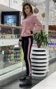 Тёплый костюм (чёрный-розовый)