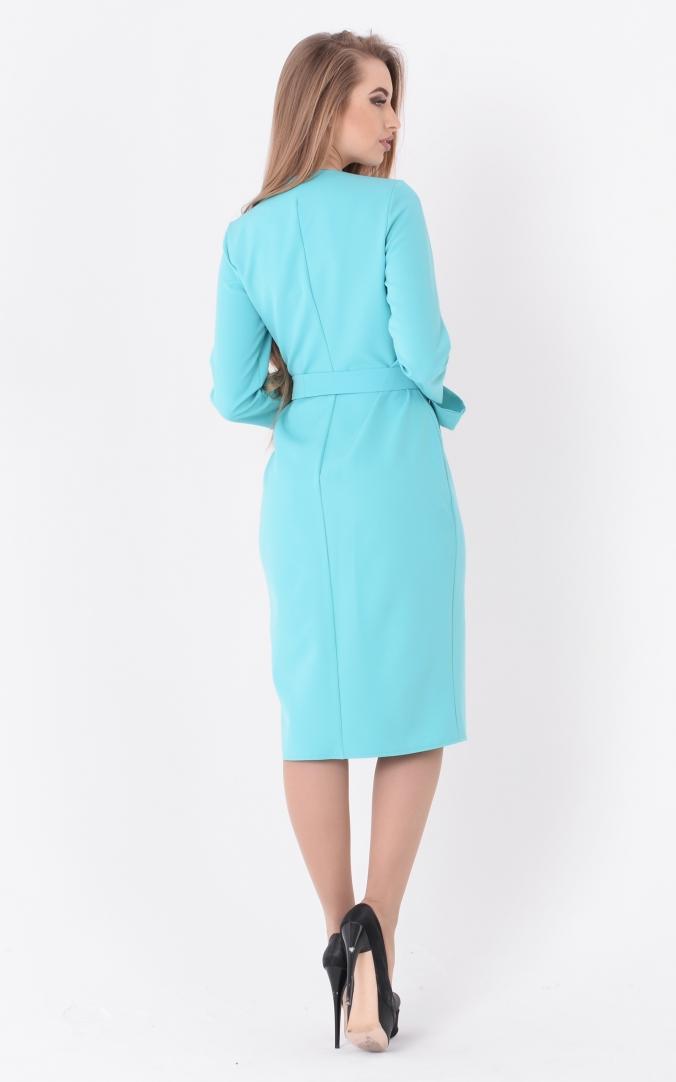 Трендовое платье кнопки