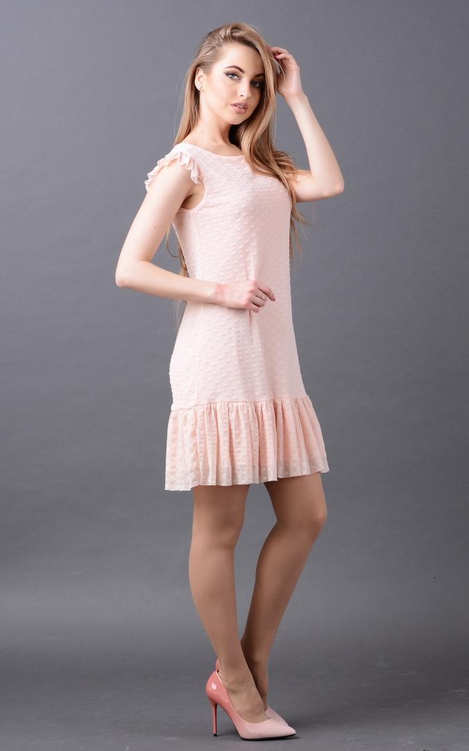 Коктейльна сукня горох
