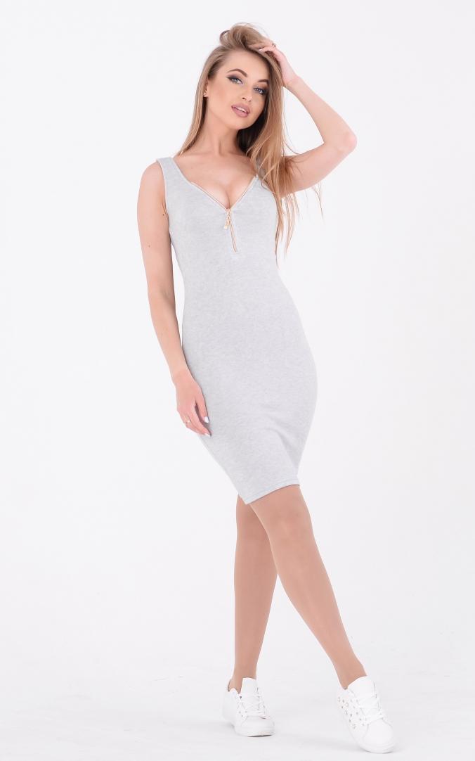 Летнее платье вязка