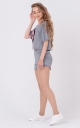 Light suit-two sequins (gray)