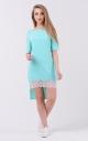 Summer dress asymmetry