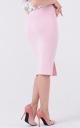 Midi knitted skirt